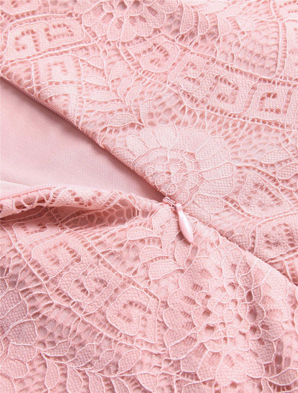 Aonour Women S Floral Lace Cap Sleeve Handkerchief Hem