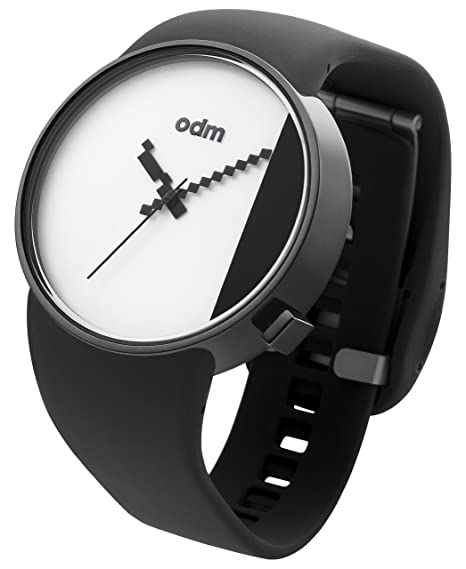 Amazon.com: o.d.m. design - Studio - White/Black - DD134-05: o.d.m. design: Watches