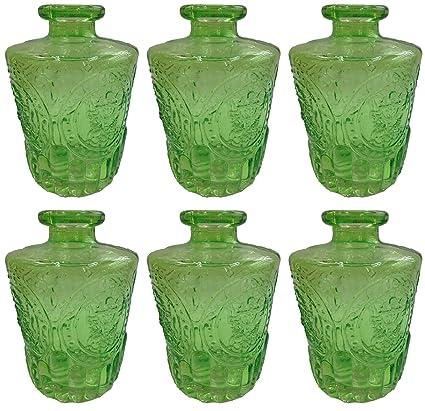 Botiquín Decorar vasos de botella Cristal 3 o 6 unidades corcho Cristal corcho Botella Botella de