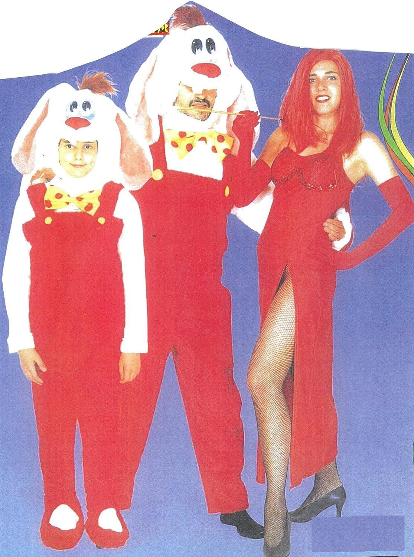 Disfraz Carnaval de Peluche Hombre Roger Rabbit Talla única ...