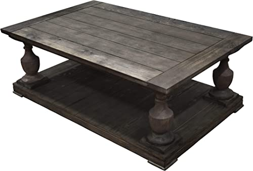 Best Master Furniture Farryn Rustic Coffee Table