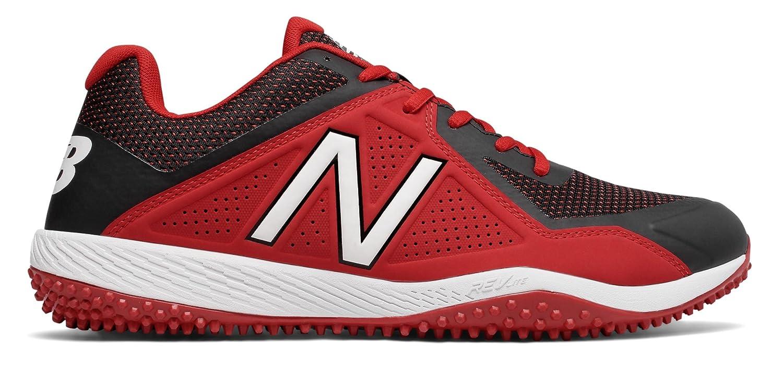 (ニューバランス) New Balance 靴シューズ メンズ野球 Turf 4040v4 Black with Red ブラック レッド US 14 (32cm) B073YM1QXM