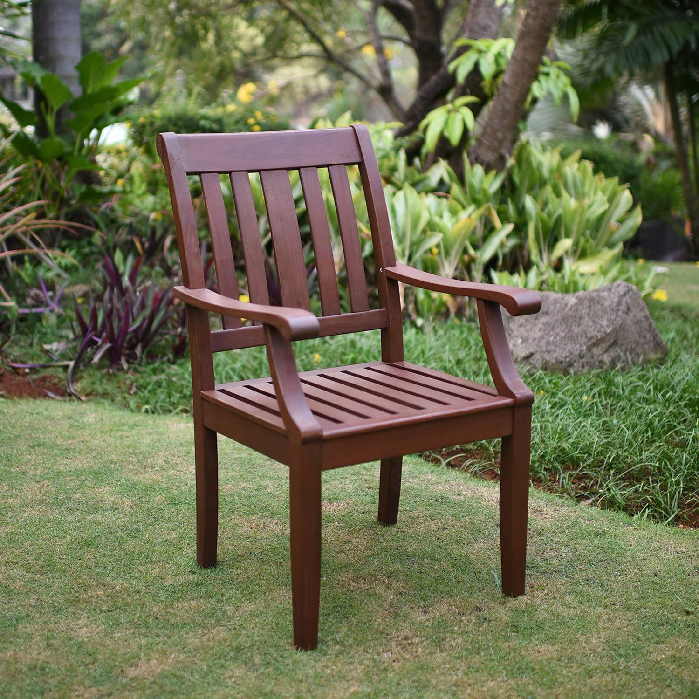 Cambridge-Casual 738120 Como Dining Chair, Brown