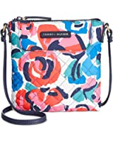 Tommy Hifiger Quilted Printed Nylon Crossbody