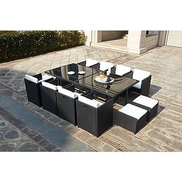 Mon Usine LSR-310-BK/WH 8C4F Le Vito Salon Jardin encastrable en ...