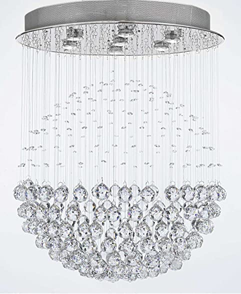 Modern contemporary chandelier rain drop chandeliers lighting with crystal