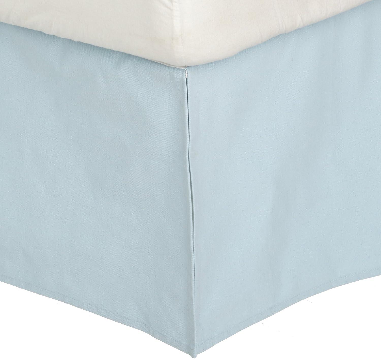 Dwell Studio Solid Crib Skirt, Blue B920-00-23