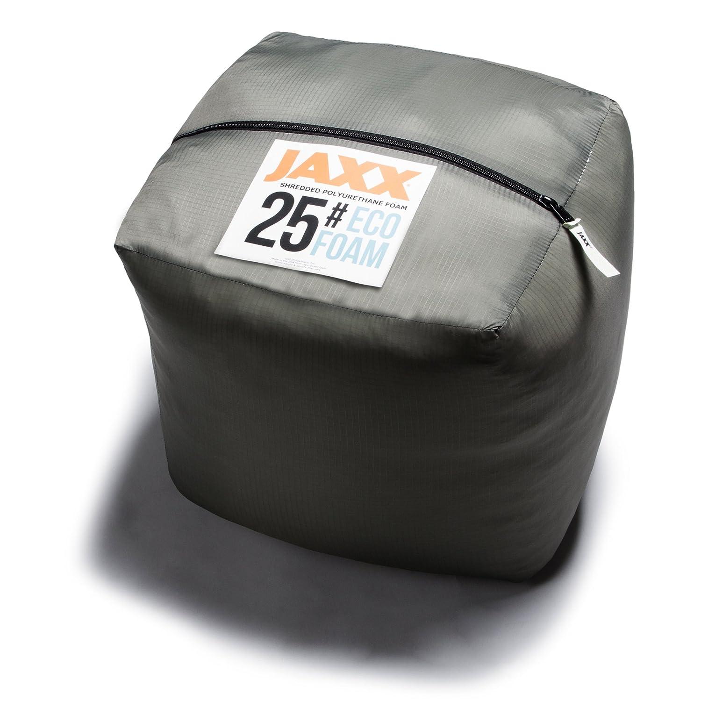 Jaxx Premium Grade Shredded Foam Filling – Refill for Pillows, Bean Bag Chairs, Dog Beds, and Cushions, 25 LB