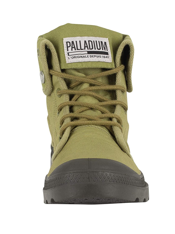Palladium Unisex-Erwachsene Baggy Hohe Army Training Camp Hohe Baggy Sneaker Grün 646c66
