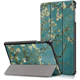 """ProElite Smart Trifold Flip case Cover for Samsung Galaxy Tab A 10.1"""" SM-T510/SM-T515 [Flowers]"""