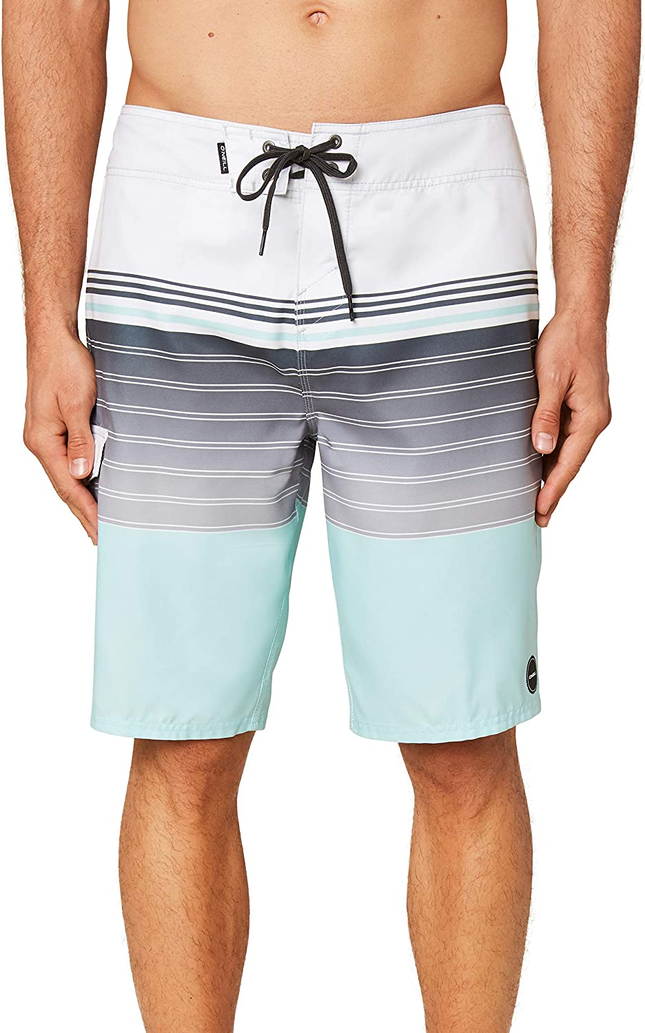 21 Inch Outseam Long-Length Swimsuit ONEILL Mens Water Resistant Ultrasuede Classic Swim Boardshort