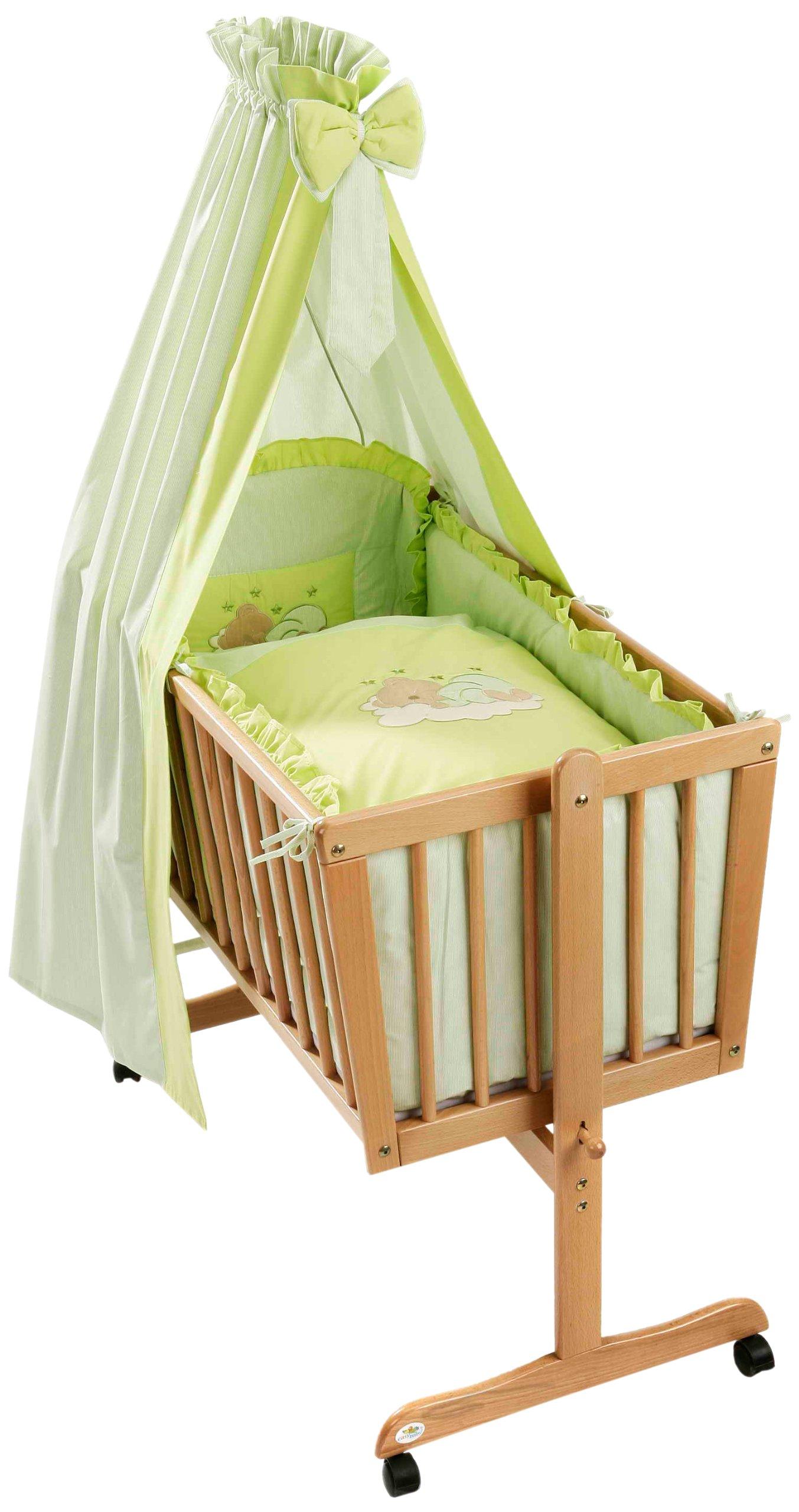 Easy Baby 480-84 Wiegenset Sleeping Bear grün product image