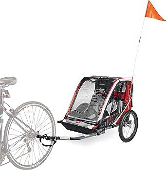Allen Sports Deluxe Steel 2-Child Bicycle Trailer