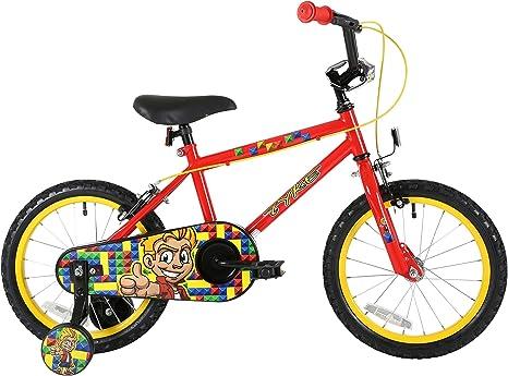 Bicicleta Sonic Tyke Boy para niño de 16 pulgadas, roja: Amazon.es ...