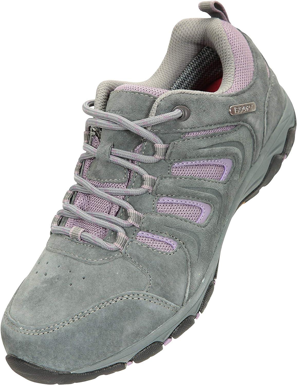 Mountain Warehouse Aspect Zapatos Impermeables para Mujer ISOGRIP Forrados con Malla Duradera Protectores de tal/ón y Dedos del pie para Acampar Larga duraci/ón