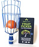EVERSPROUT Twist-On Fruit Picker Basket | Twists onto Standard US Threaded Pole (3/4-inch ACME) | Fruit Harvester Attachment (Head Only, Pole Not Included)
