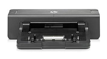 HP A7E34AA - Base de conexión para ordenador portátil, negro