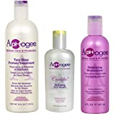 Aphogee Trio Two-Step Protein Treatment Bundle with Curlific Hydrating Curl Serum and Balancing Moisturizer