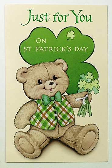 Amazon st patricks day cards for kidsjust for you on st st patricks day cards for kidsjust for you on st patricks day m4hsunfo