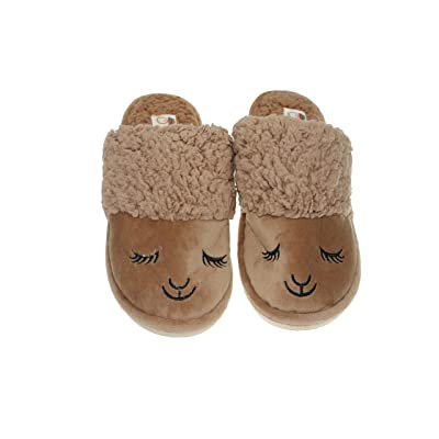 YIR Cotton Slippers Winter Couple Men and Women Anti-skid Thicker at Home Cute Warm Plush Shoes
