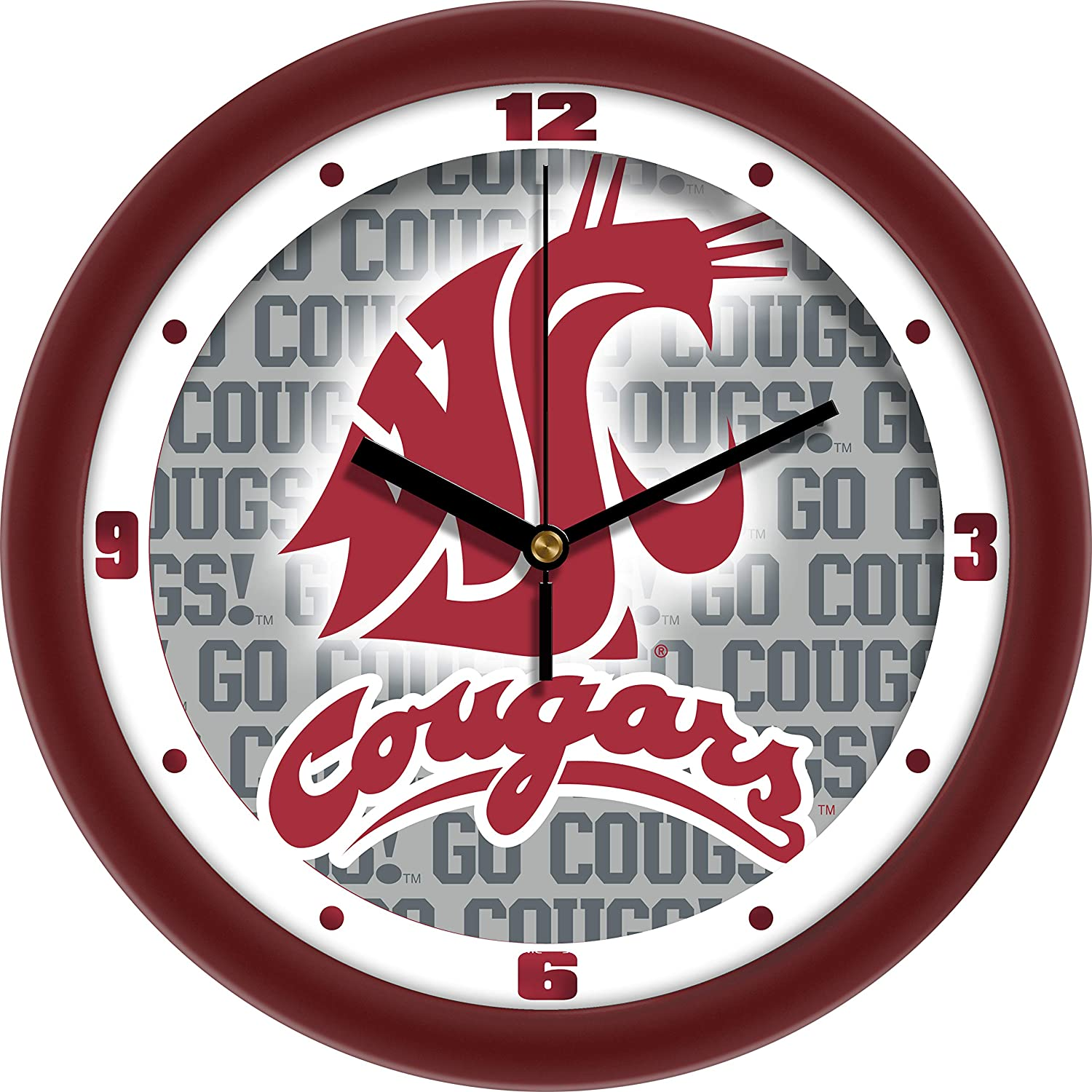 SunTime Washington State Cougars - Dimension Wall Clock