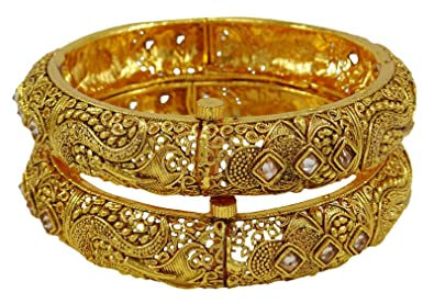 Bridal & Wedding Party Jewelry Indian Traditional Bollywood Designer Screw Bangle Kada Bracelet Women Jewellery