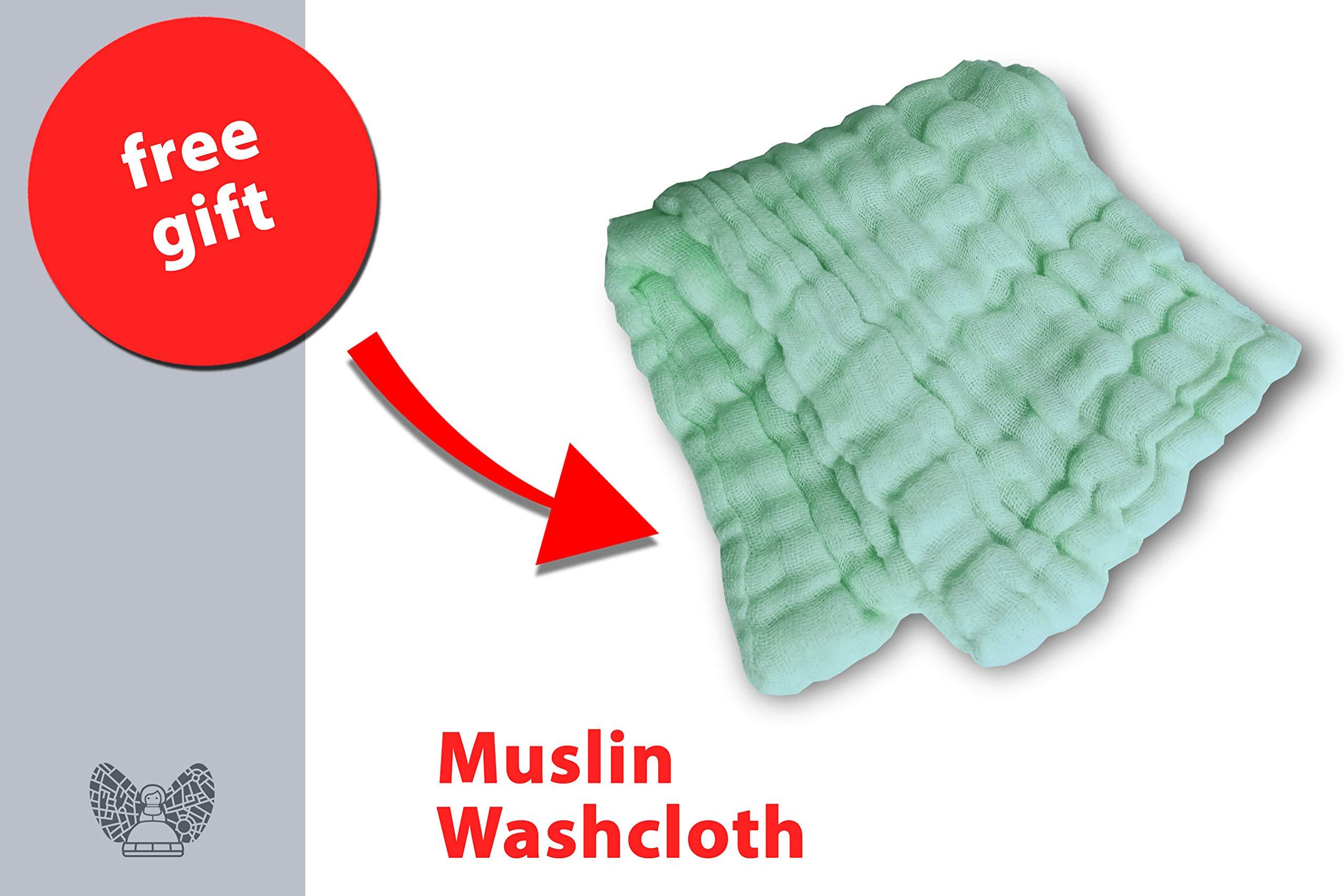Fair-e-Trade Poncho Rigid Neckline Nursing Cover, 100% Premium Breathable Cotton by Fair-e-Trade (Image #2)