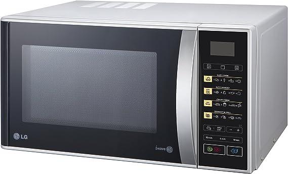 LG MH6342BPS 23L 1000W Negro, Plata - Microondas (23 L, 1000 W ...