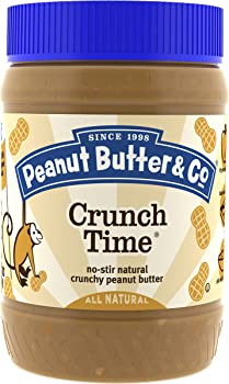 6-Pack Peanut Butter & Co. Peanut Butter Jars (16-Oz. Each)