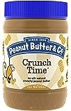 Peanut Butter & Co. Peanut Butter, Non-GMO, Gluten Free, Vegan, Crunch Time, 16-Ounce Jar