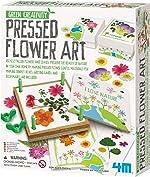 4M Green Creativity Pressed Flower Art Kit - Arts & Crafts