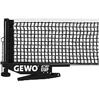 GEWO Unisex - Red CS Clip Red de Tenis de Mesa para Adultos Negro Estándar ITTF