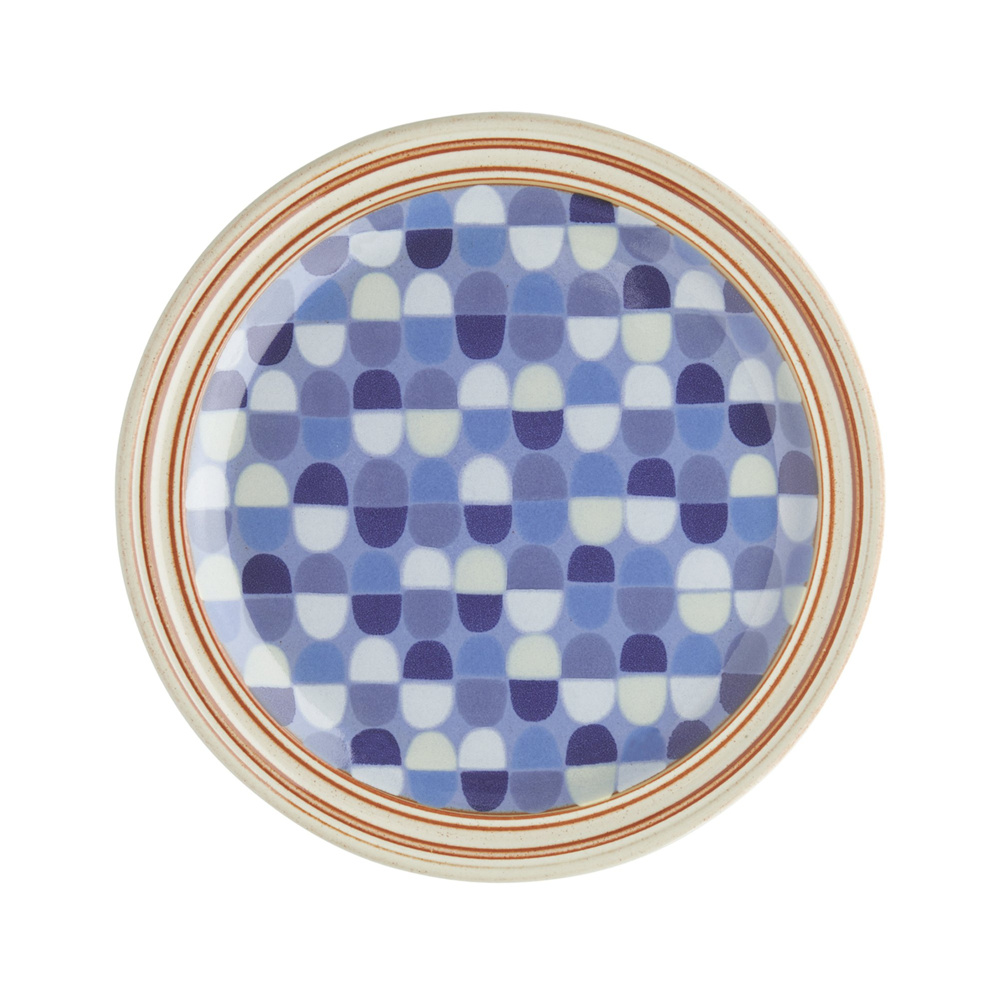 Denby USA Heritage Fountain Accent Salad Plate, Multicolor