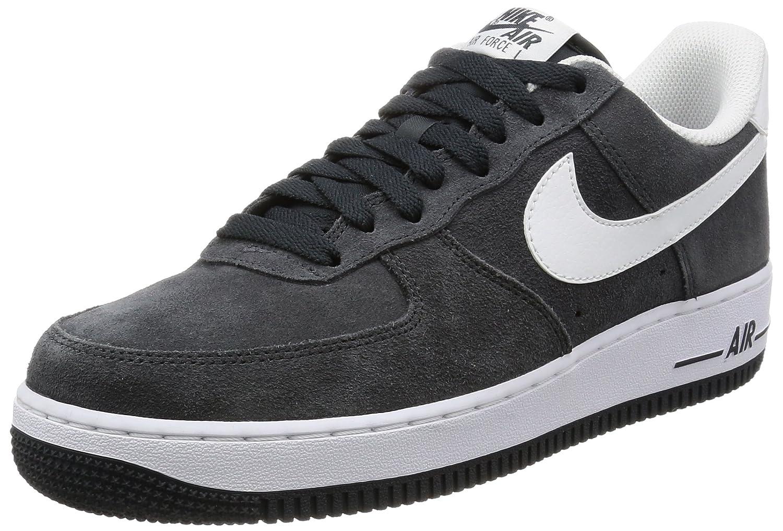 Nike Pánské Air Force 1 07 QS Basketball Boty Anthracite/Bílý 100% zcela nový J50964
