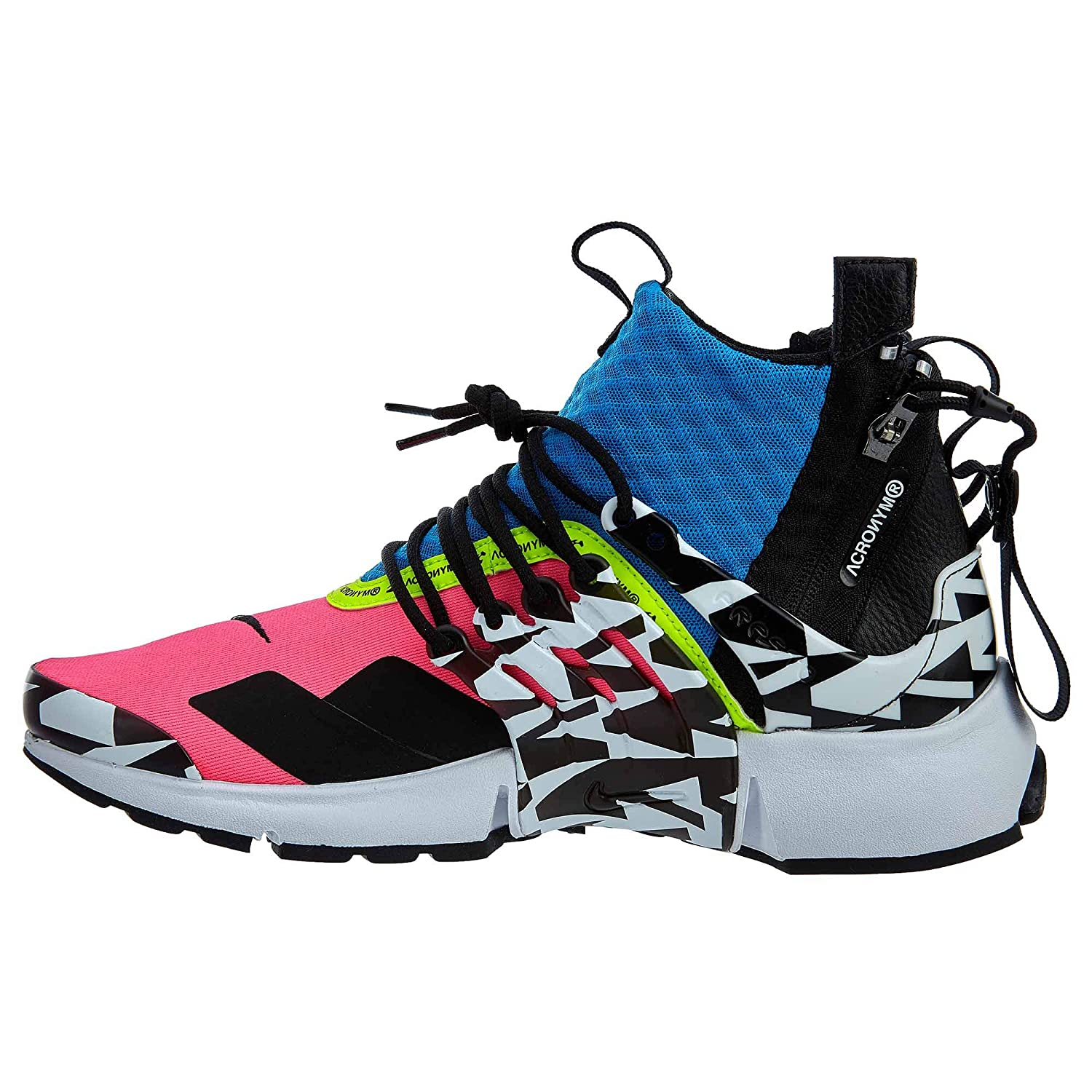 best service f7464 9570c Amazon.com NIKE Air Presto Mid Acronym Racer Pink Mens Sports  Outdoors