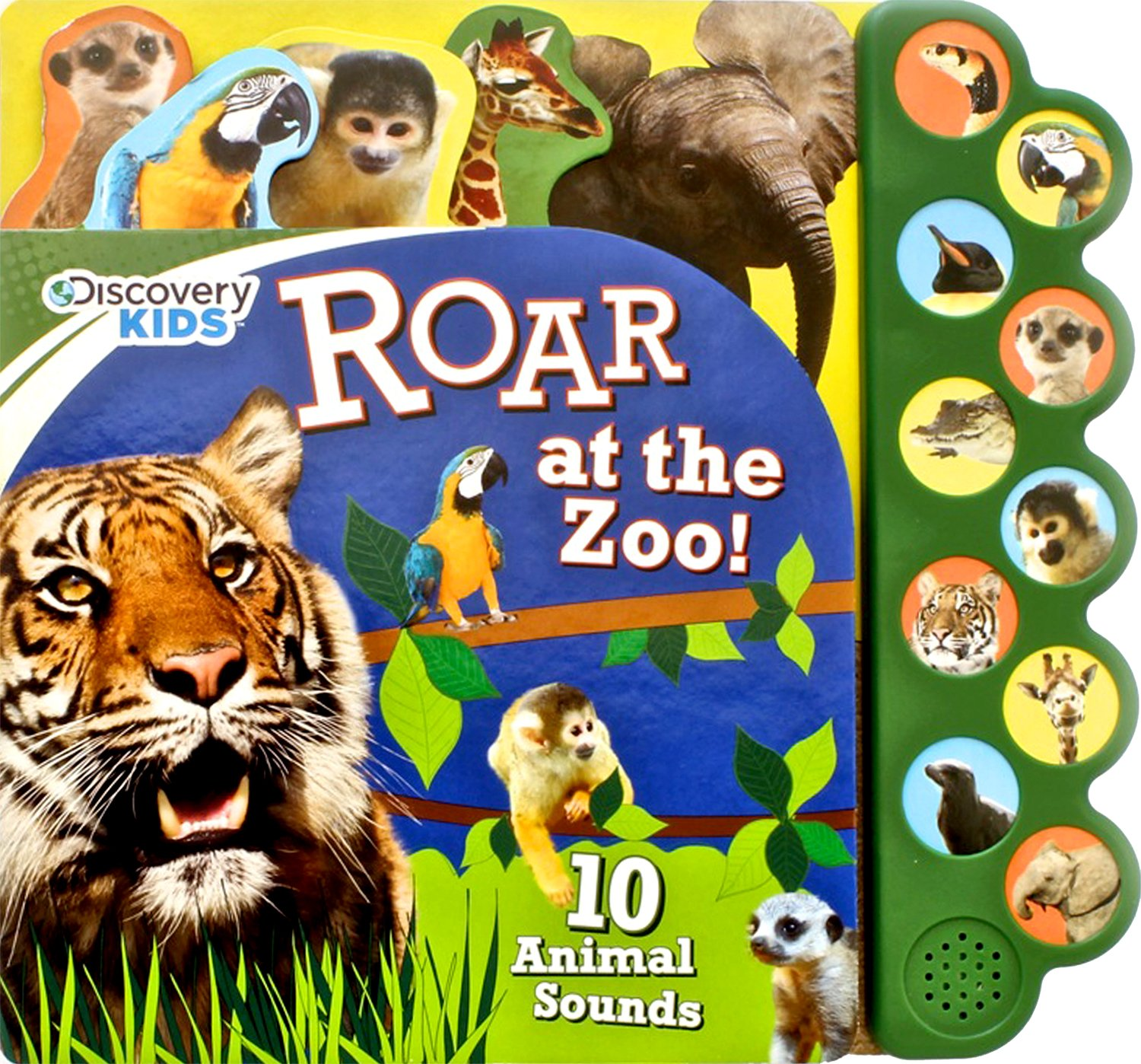 discovery kids roar at the zoo sound book discovery 10 button