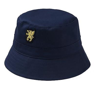 shirtmachine - Gorro de pescador - para hombre Azul azul marino Talla única HEbK1NXCT