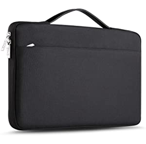 ZINZ 15-15.6 Inch Laptop Sleeve Compatible with Dell/Ausu/Acer/HP/Toshiba/Lenovo Spill-Resistant Ultrabook Netbook Tablet Bag Case Cover -Black