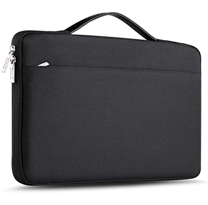 126d6c933500 ZINZ 15-15.6 Inch Laptop Sleeve Compatible with  Dell/Ausu/Acer/HP/Toshiba/Lenovo Spill-Resistant Ultrabook Netbook Tablet  Bag Case Cover -Black