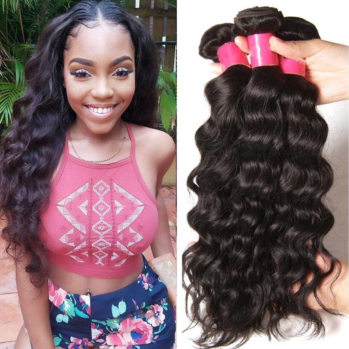 Amazon Yiroo Malaysian Virgin Straight Hair Weave 3 Bundles