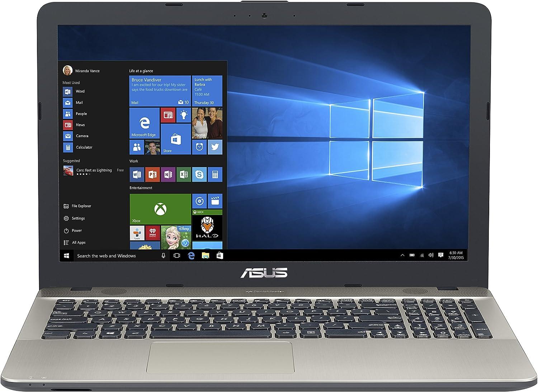"Asus R541NA-RS01 R Series 15.6"" Laptop, Intel Celeron N3350 Processor | 4GB RAM | 500GB | DVDRW Drive | Windows 10 - Black"