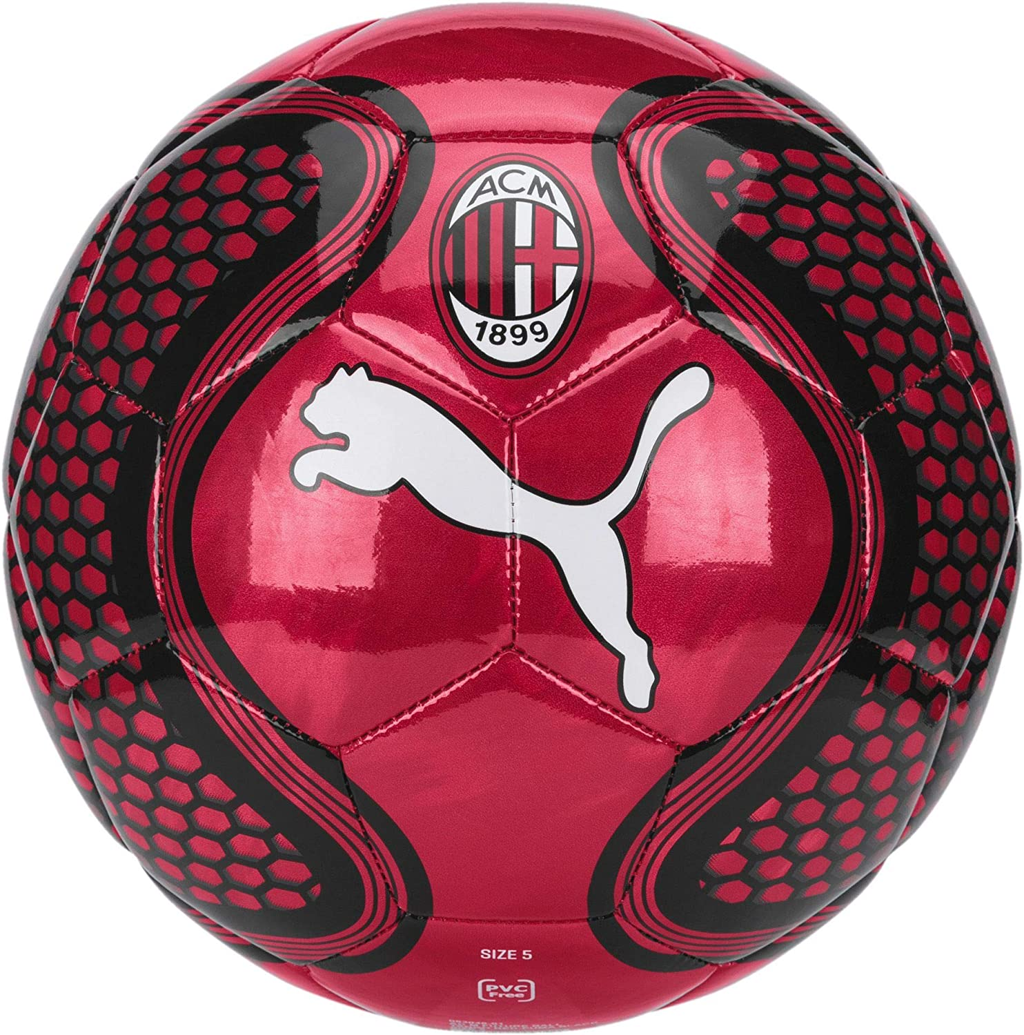 Puma AC Milan Future, Ball Unisex – Adulto, Tango Red-puma Black ...