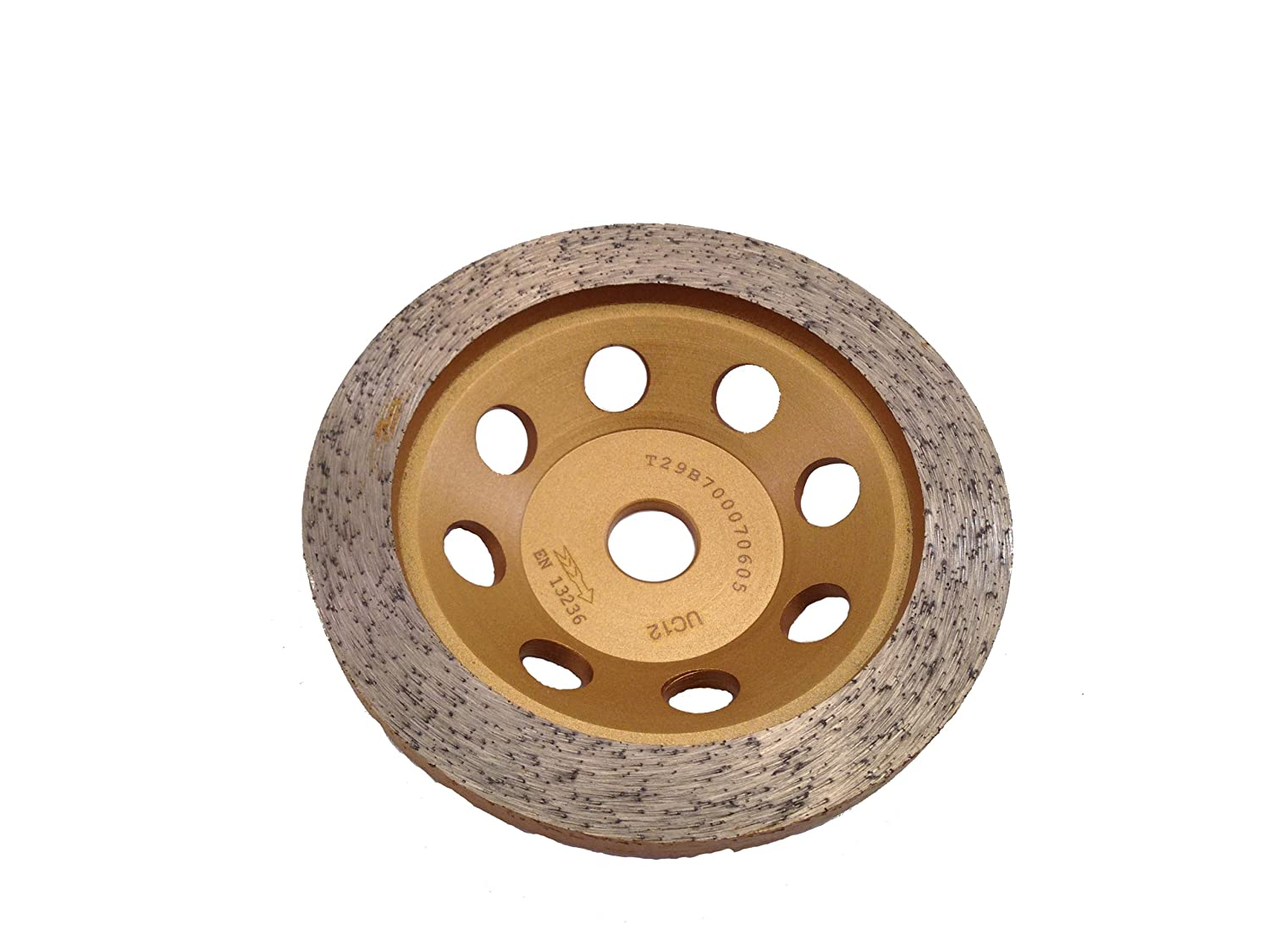 PRODIAMANT premium diamond cup wheel granite suitable for Makita PC1100 - 110 mm x 15 mm gold PDX829.000