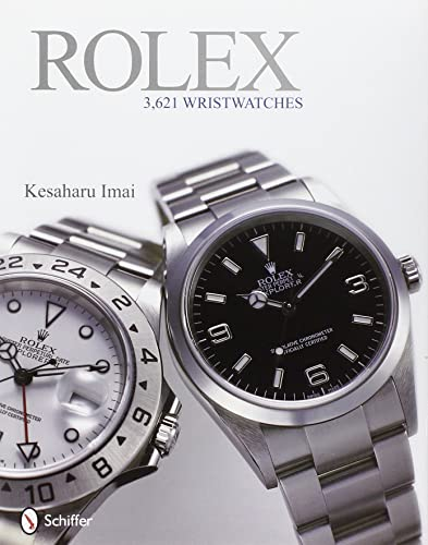 Rolex: 3;621 Wristwatches (It is a Book; not a watch)
