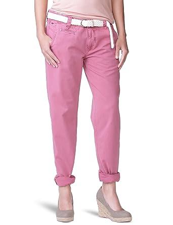Femme Denim Uni Pantalon Jeans Tommy Hilfiger Chino Rose CrBxodeW