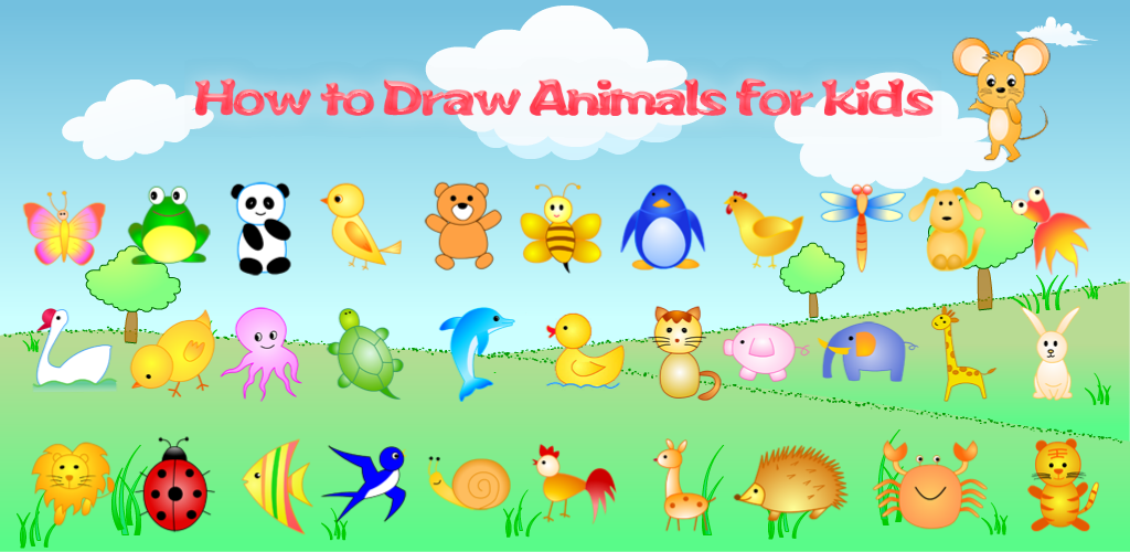 Amazon Com How To Draw Animals For Kids Appstore For Android