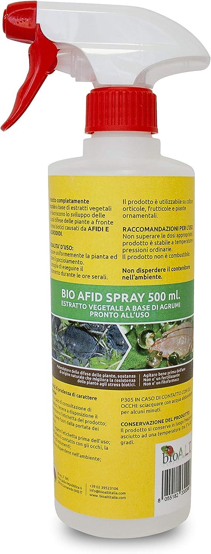 Bio Afid Insecticida Spray Natural Extracto de Plantas a Base de cítricos Afidicida contra pulgones Eleurodidae Thrips Psilla Protección de Plantas Ornamentales de Flores Frutas y Verduras Listo