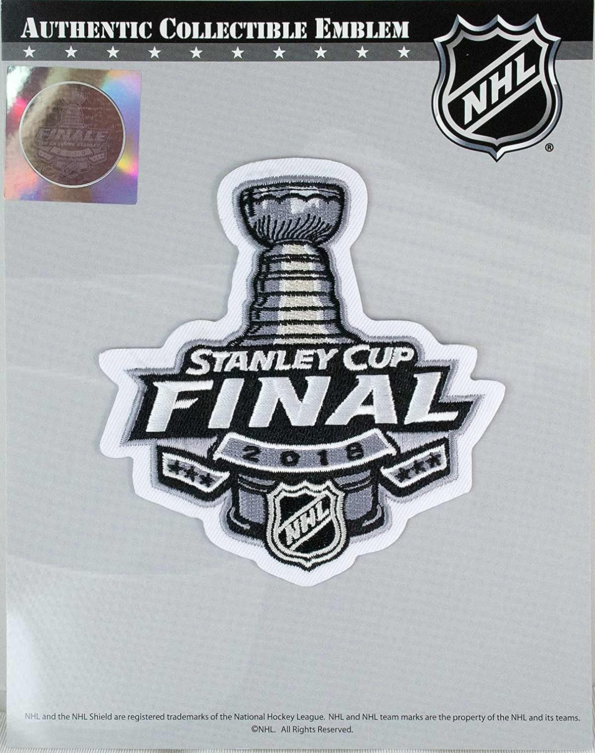 7ed1a91fb 2018 NHL Stanley Cup Final Commemorative Jersey Patch Vegas Golden Knights  Washington Capitals: Amazon.ca: Sports & Outdoors
