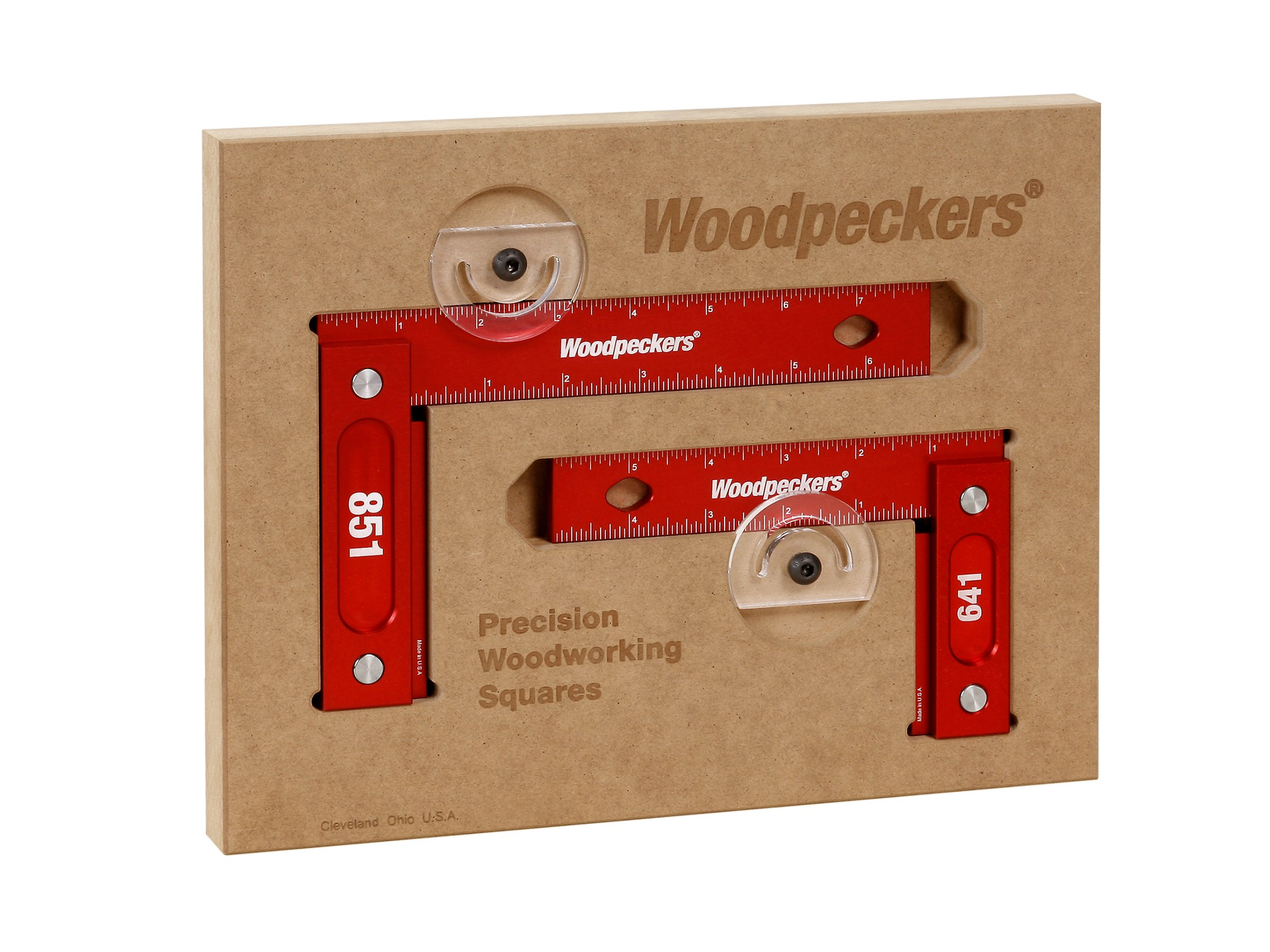 Woodpeckers 150mm AND 200mm Square Combo Metric