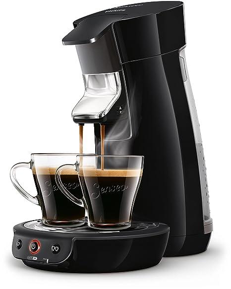 Senseo Viva Café HD7829/61 - Cafetera (Independiente, Máquina de café en cápsulas, 0,9 L, Dosis de café, 1450 W, Negro)